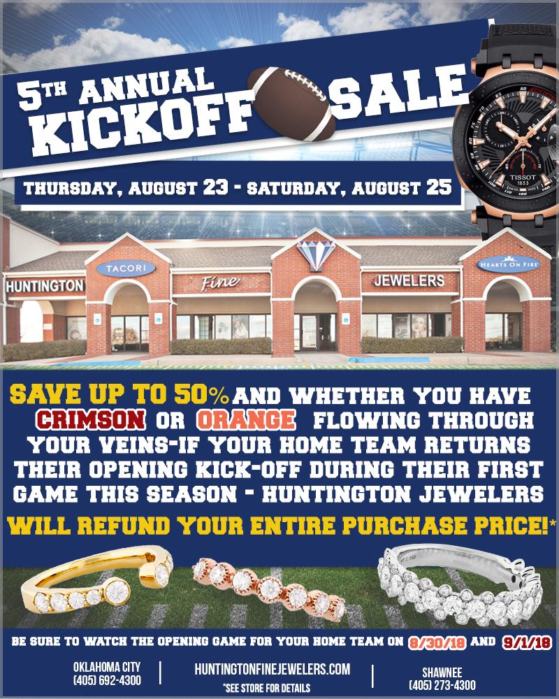 5th Annual Kickoff Sale