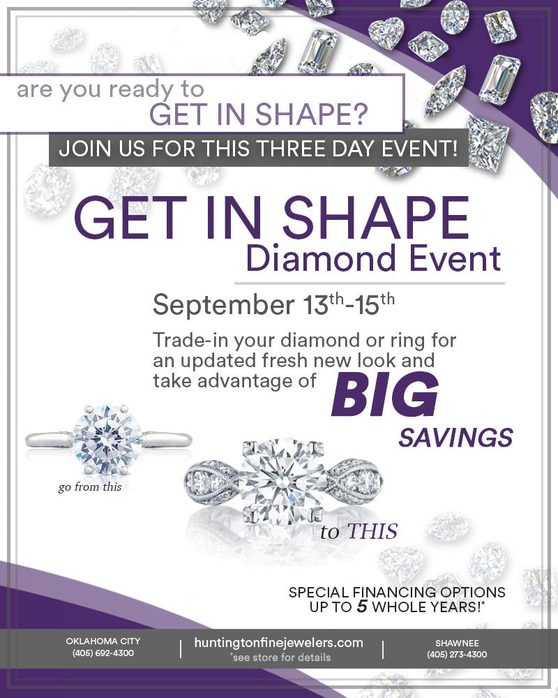 Get in Shape Diamond Event