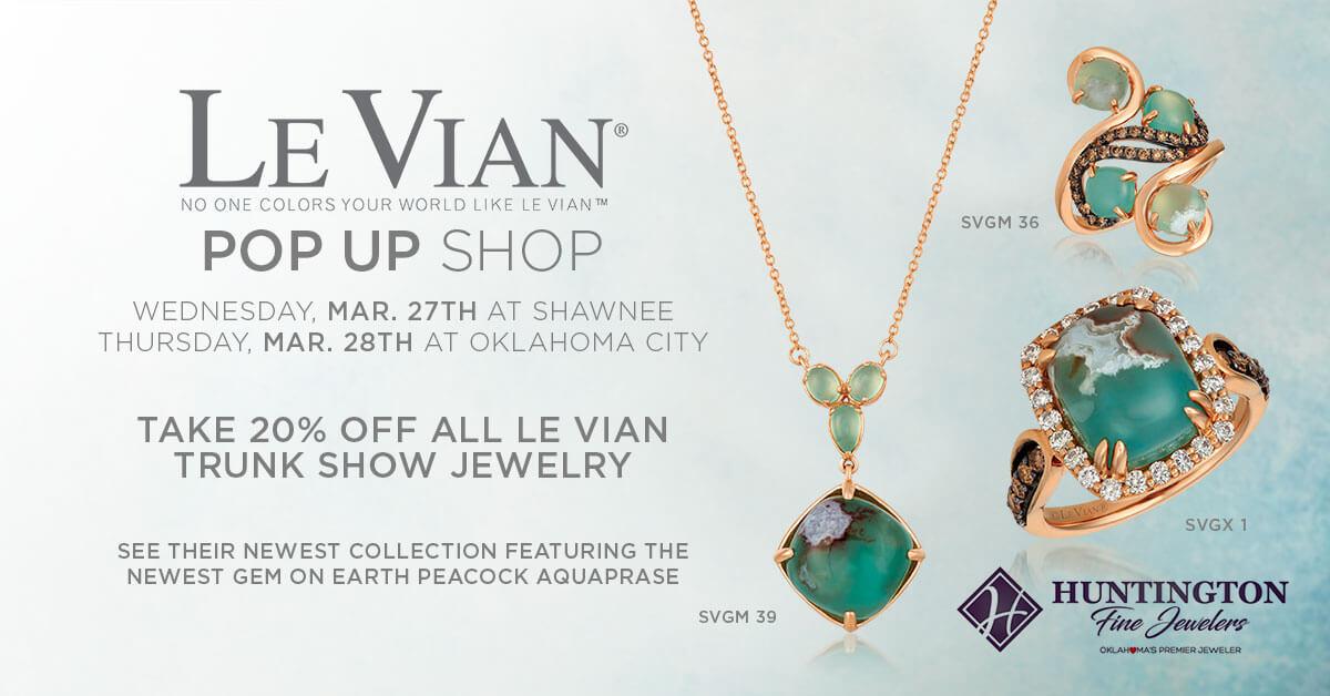 Le Vian Pop Up Shop