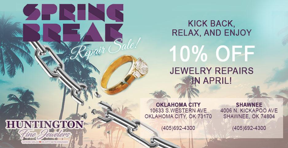 Spring Break Repair Sale | April 2019