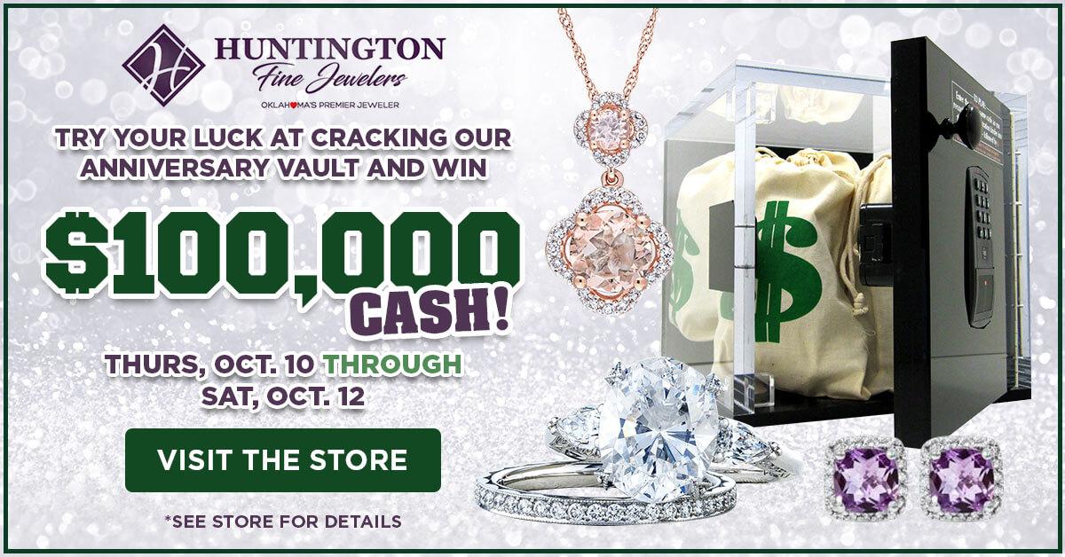 $100,000 Giveaway at Huntington Fine Jewelers
