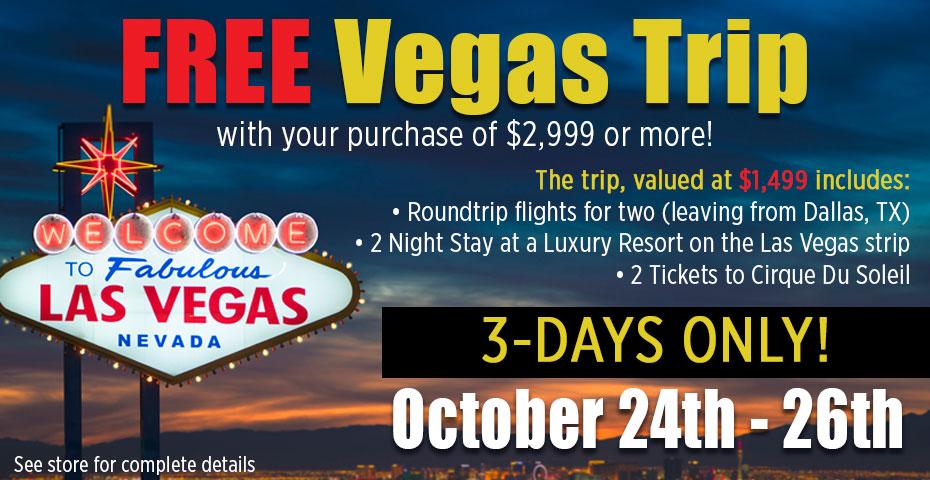 Get a Free Trip to Vegas!