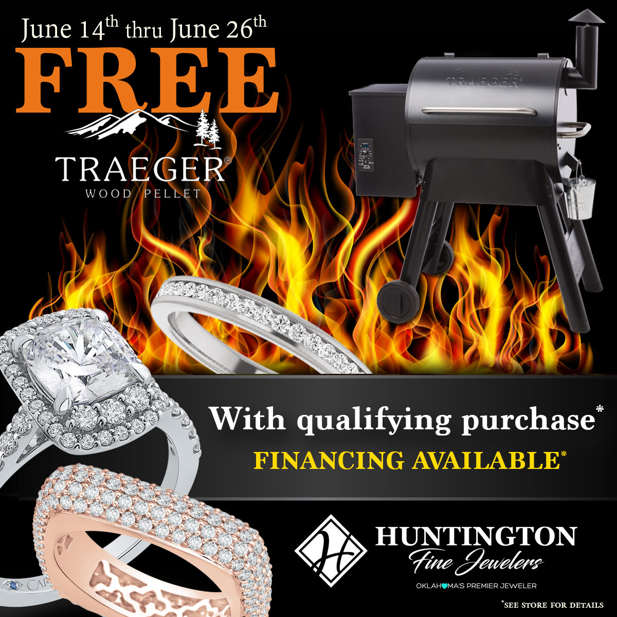 Celebrate Father's Day in Oklahoma City with An Exclusive Offer from Huntington Fine Jewelers