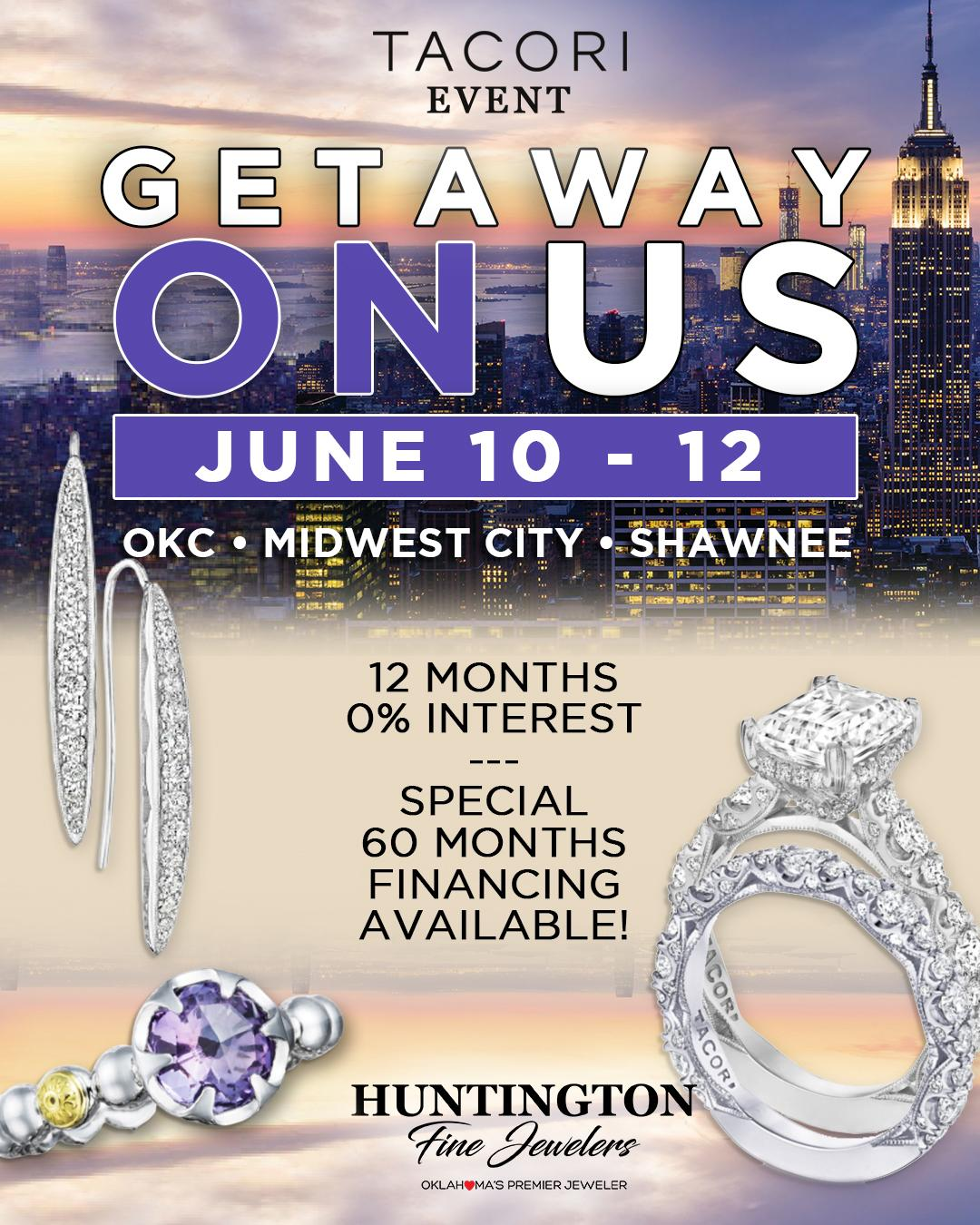 Take a Vacation With A Complimentary 7-Night Resort Pass from Huntington Fine Jewelers