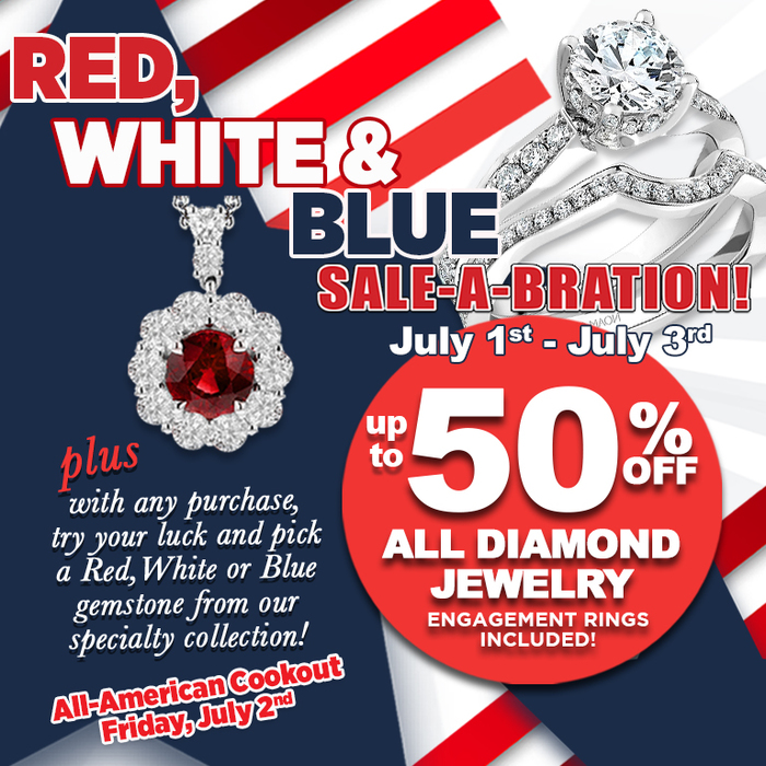 Red, White, and Blue Sale-A-Bration