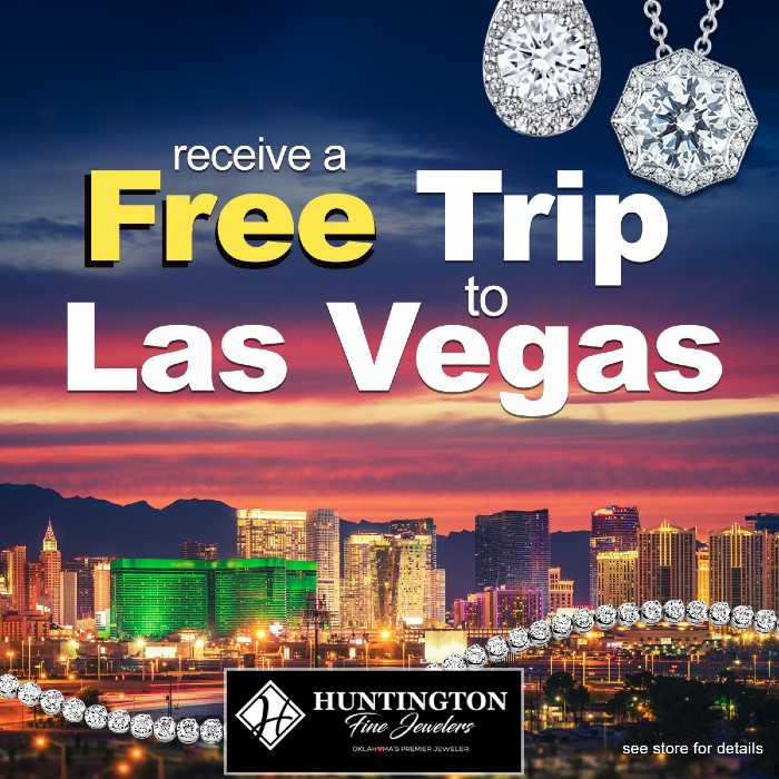 Enjoy a Two-Night Stay in Las Vegas Courtesy of Huntington Fine Jewelers