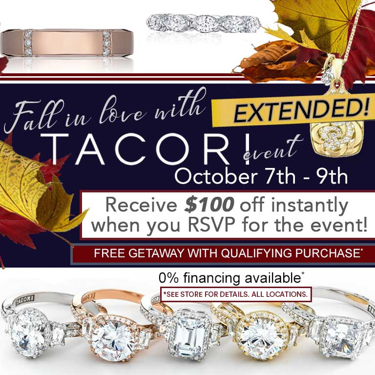 Fall in Love With the Tacori Bridal Event Extended